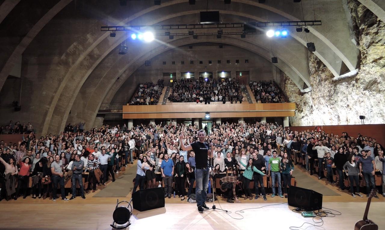 Acutación de David Guapo en Tarragona 2015.