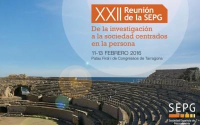 XXII REUNIÓ ANUAL DE LA SEPG