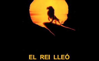 EL REY LEÓN, CON EL IES COLLBLANC