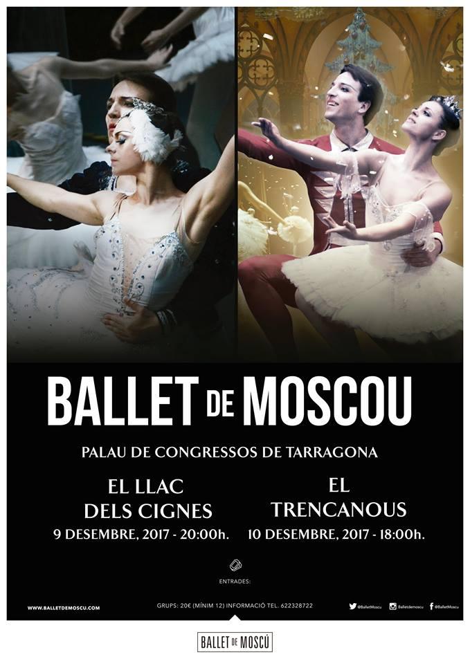 ballet de moscu llac dels cignes i trencanous - Lago de los cisnes - cascanueces
