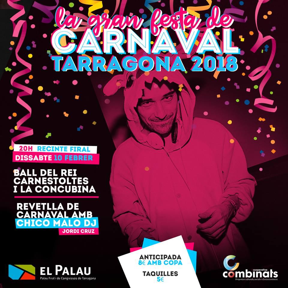 carnaval tarragona 2018