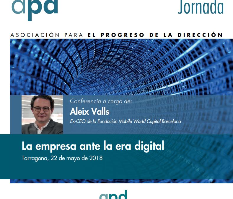 JORNADA APD | La empresa ante la era digital