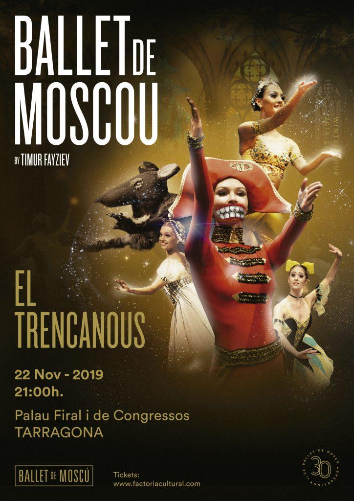 trencanous cascanueves ballet de moscu 2019