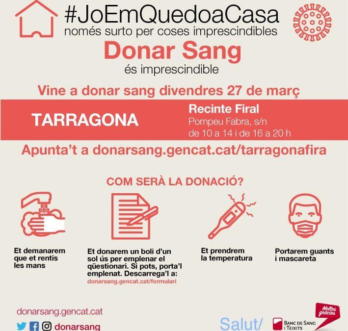 DONACIÓ DE SANG AL RECINTE FRIAL